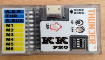 KK pro multirotor flight controller